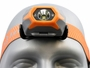 Close Up Front Shot of the Inova STS Headlamp - Orange Version