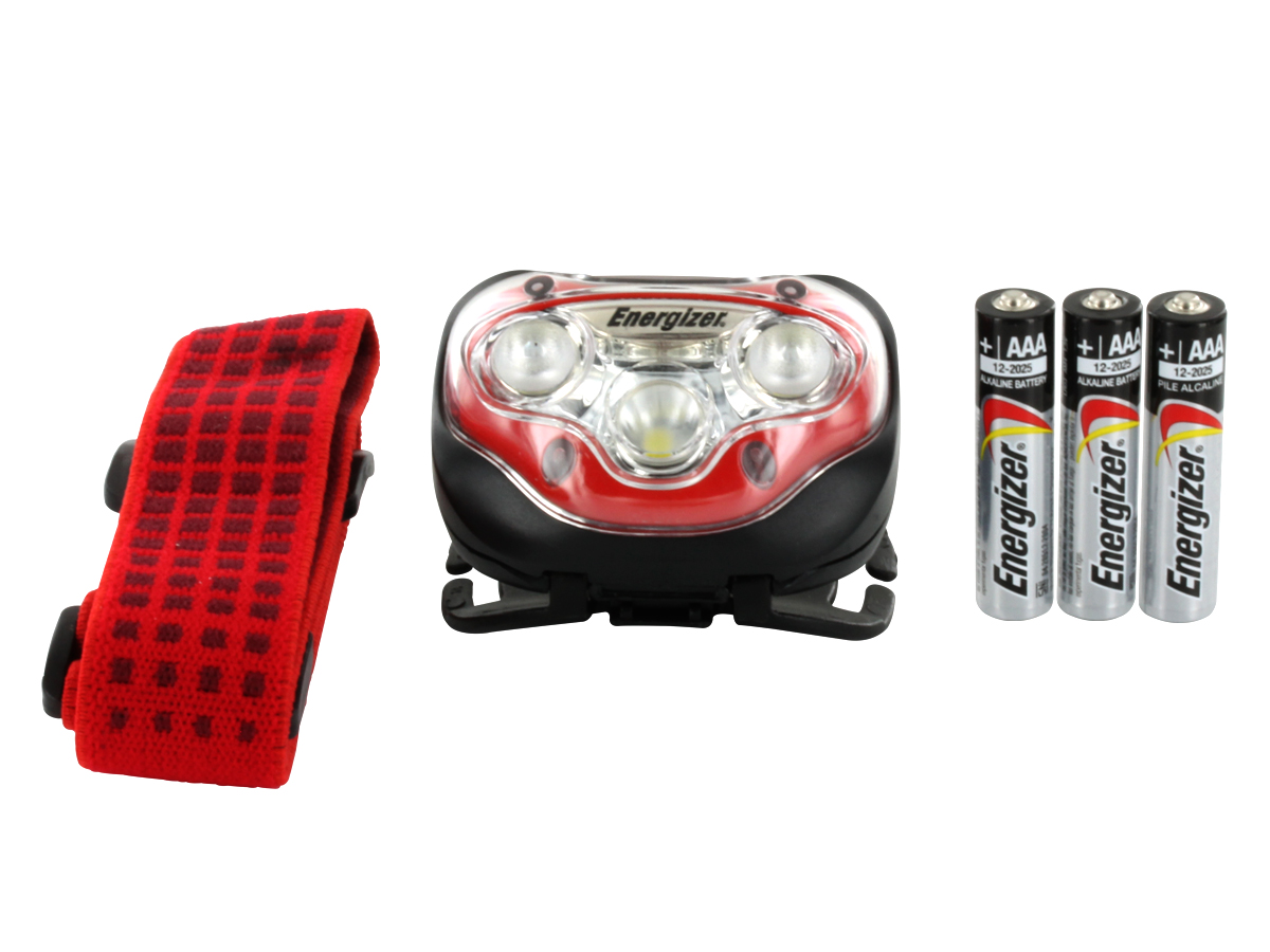 Vision HD Headlamp Includes Batteries