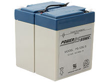 Power-Sonic AGM General Purpose PS-1282 S 9Ah 12V Rechargeable Sealed Lead Acid (SLA) Battery - F1 Terminal