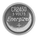 Energizer ECR2450 (300PK) 620mAh 3V Lithium Primary (LiMNO2) Coin Cell Batteries - Case of 300