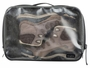 nite ize waterproof large packing cube with different contents and sneakers front view