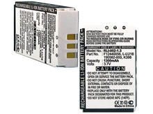 Empire RLI-002-13 1300mAh 3.7V Replacement Lithium Ion (Li-ion) Remote Control Battery for Logitech Harmony 1000