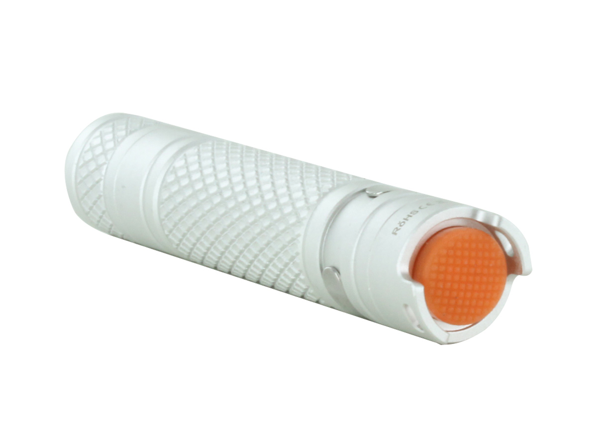 silver M10 flashlight package