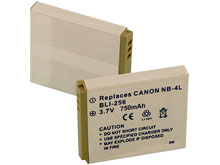 Empire BLI-256 750mAh 3.7V Replacement Lithium Ion (Li-Ion) Digital Camera Battery Pack for the Canon NB-4L
