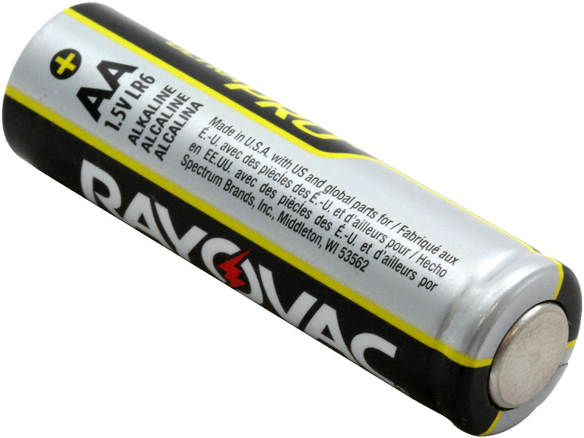 Rayovac Alkaline Battery Size Aaa 96 count//case