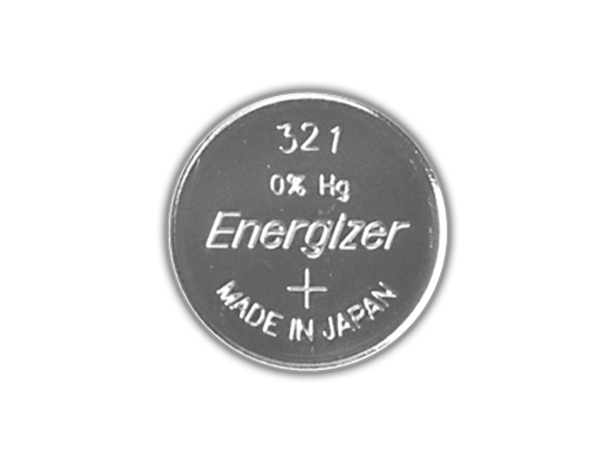 Energizer SR616SW coin cell front view