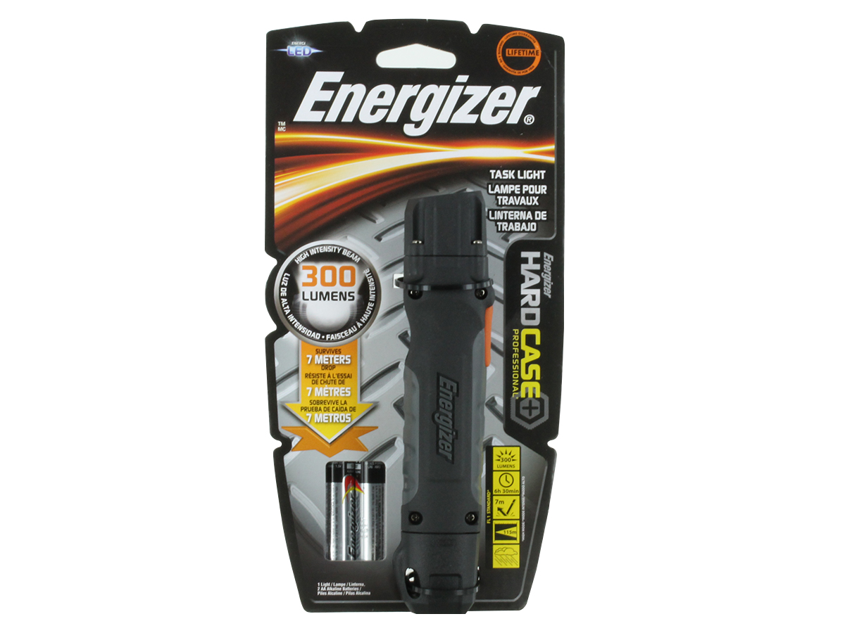 Packaging for Energizer Hard Case Professional Task Light