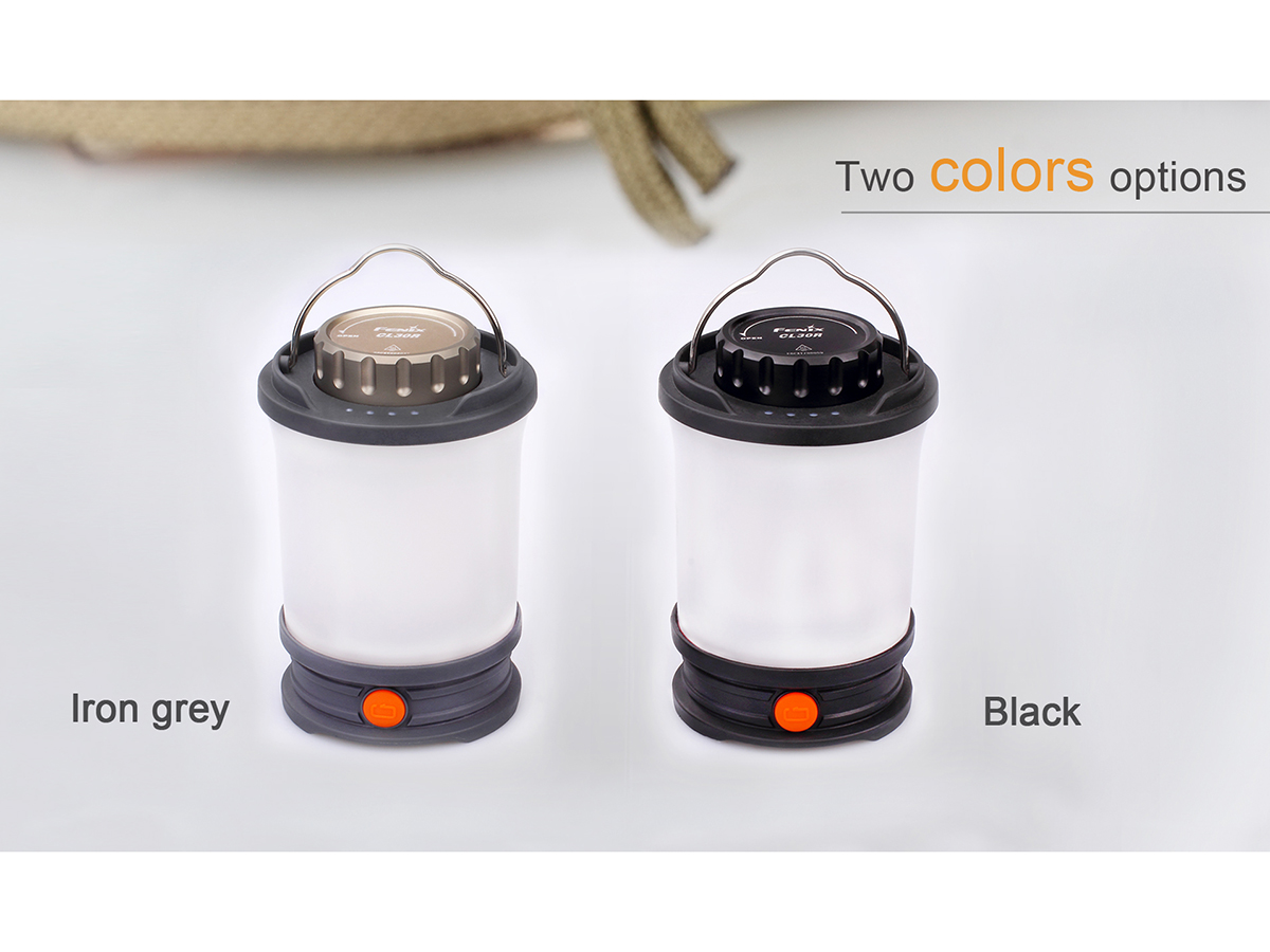 Slide three for Fenix CL30R lantern