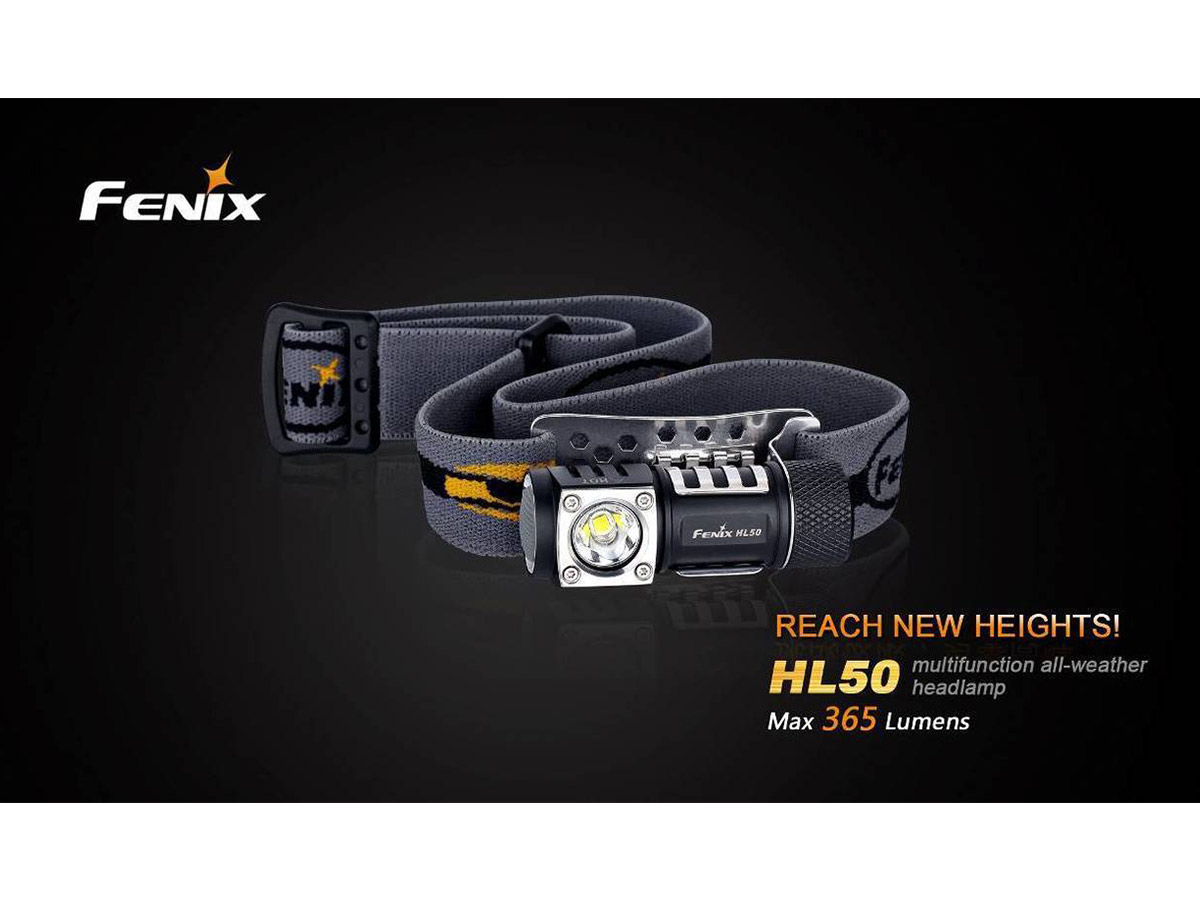 Specifications of the Fenix HL50