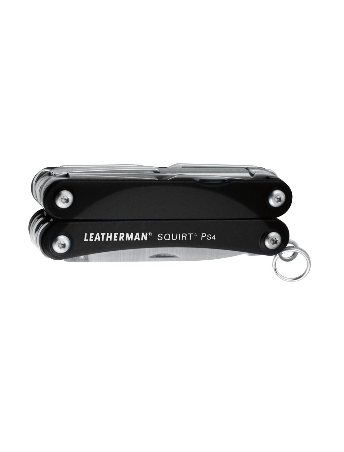 Box packaging for the Leatherman Squirt PS4 multi-tool