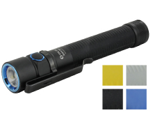 Olight S2A Baton EDC Flashlight - CREE XM-L2 LED - 550 Lumens - Includes 2 x AAs  - Blue, Gray or Yellow