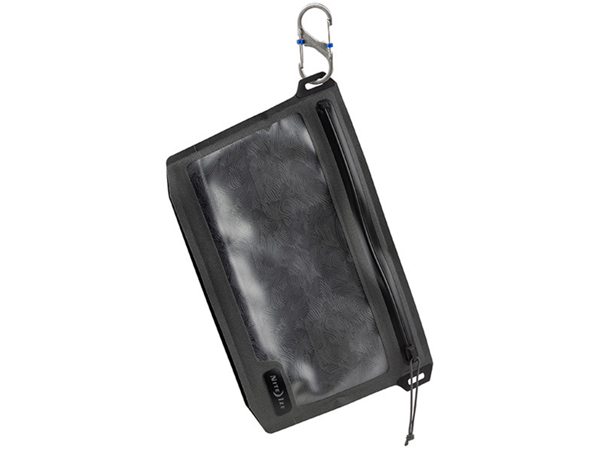 nite ize waterproof 3-1-1 pouch hanging from attachment points