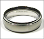 Polished Stainless Steel Spin Ring Size 7, 8, 9, 10, 11, 12