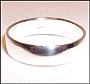 Polished Sterling Silver Wedding Band  (5 mm) Ring