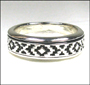 Hugs and Kisses XO Sterling Silver Spin Ring Size 9, 10, 13