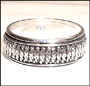 Tibetan Sterling Silver Spin Ring Size 12