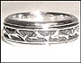 Dolphin Sterling Silver Spin Ring Size 11, 12