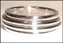 Two-band Sterling Silver Spin Ring Size 10 12