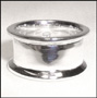 Wide Band Polished Channel Silver Ring Size 9, 10, 11, 12, 13