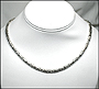 "Men's Byzantine Silver Necklace 20"" (4mm)"