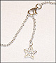 Hanging  Star Charm Anklet