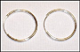 Silver Endless 26mm Hoop Earrings