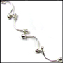 Ivy Link Sterling Silver Necklace 16""