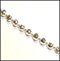Diamond Cut Sterling Silver Chain 18""