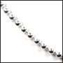 Sterling Silver Bead (2mm) Chain 16""