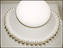 Swarovski White Pearl  (8 mm) Necklace