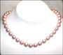 Swarovski Powder Rose Pearl  (10mm) Necklace