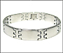 Men's Stainless Steel Link Bracelet II