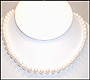 "Cultured Pearl Necklace (7 - 7.5 mm) in 14K Gold (16"")"
