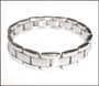 Men's Stainless Steel Link Bracelet  8""