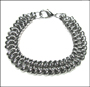 Men's Stainless Steel Double Link Bracelet