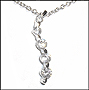 5-Stone Journey of Love Silver Necklace