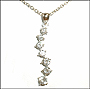 7-Stone Journey of Love Silver Necklace