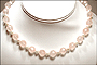 Faceted Rose Quartz Bead Necklace with Pearls