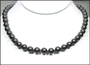 Swarovski Black Pearl  (8 mm) Necklace