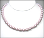Swarovski Powder Rose Pearl  (8mm) Necklace