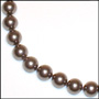Swarovski Tahitian Color Pearl  (12mm) Necklace