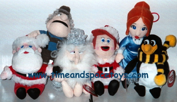 Santa Claus Is Comin To Town Plush Dolls Set Of 6 Sold Out