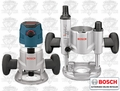 Bosch MRC23EVSK 2.3 HP VS Combination Plunge & Fixed-Base Router Pack