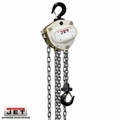 JET 201115 L100-150WO-15 1-1/2 Ton Hoist W/ 15' Lift + Overload Protection