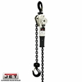 JET 236005 1.6 Ton LVR Hoist +5' Lift and Ship Yard Hooks + Overload Protection