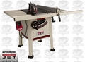 "JET 708492K JPS-10TS 10"" Proshop Table Saw + 30"" Fence, Steel Wings w/Knife"