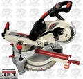 "JET 707110 10"" Sliding Dual Bevel Miter Saw PLUS Green XACTA Laser"