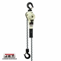 JET 375020 0.8 Ton Lever Hoist with 20 Foot Lift and Overload Protection