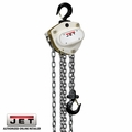 JET 101100 1-1/2 Ton Hoist W/ 10' Lift + Overload Protection