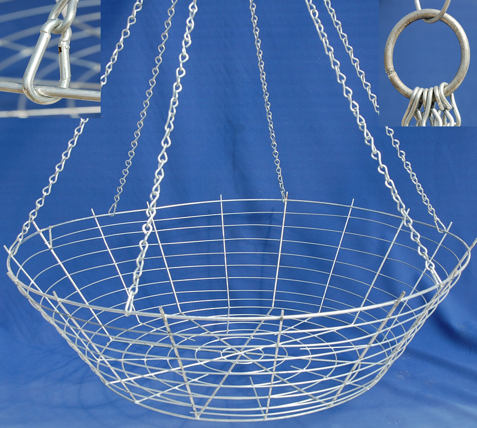 Wire hanging basket 36\